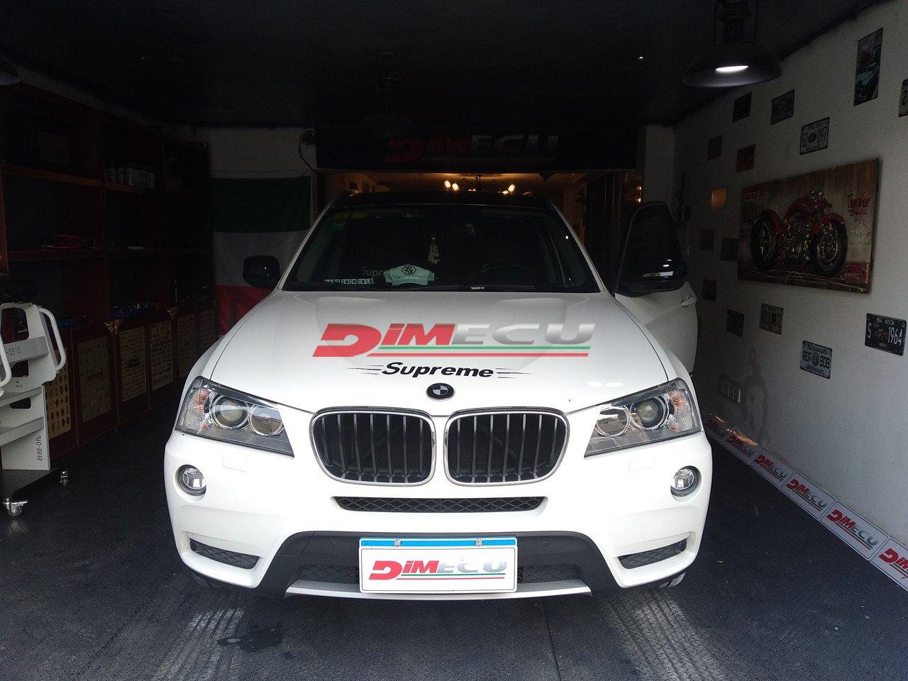 BMWx3 刷写Dimecu 一对一特调程